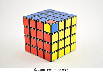 4 x 4 Cube Unsolved