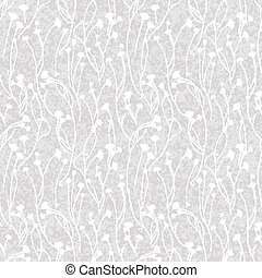 Wild flower seamless, Floral endless pattern - Floral...