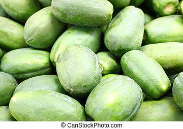 Guavas - Pile of fresh guavas.