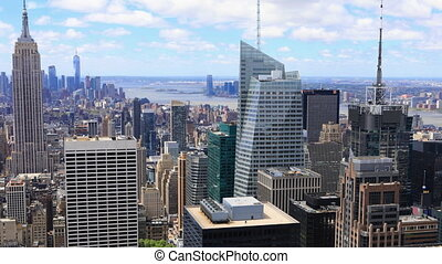 Timelapse of midtown Manhattan area - A Timelapse of midtown...
