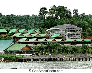 Andaman Club is located on two islands in MyanmarA place for...