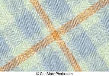 Checked fabric texture