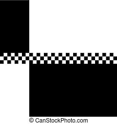 80s Ska 2 Tone Checkerboard - 80s retro 2 Tone checkerboard...