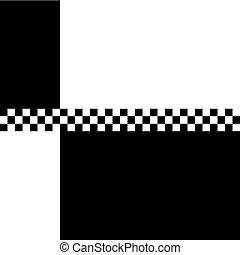 80s Ska 2 Tone Checkerboard - 80s retro '2 Tone'...