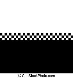 80s Ska Checkerboard - 80s retro checkerboard design with...