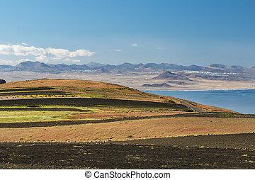 Mirador del Rio View In Lanzarote, Spain - View from the...