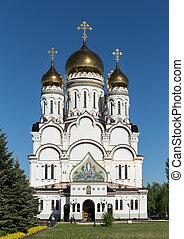 Transfiguration Cathedral in Togliatti. The biggest Orthodox...