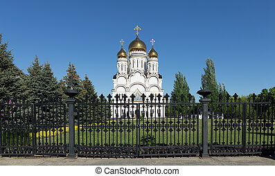 Transfiguration Cathedral in Togliatti. The biggest Orthodox...