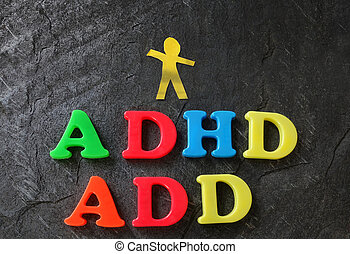 ADD ADHD paper child - ADD (Attention Deficit Disorder) and...