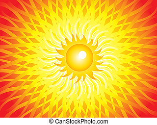 abstract artistic sun beam background