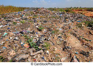 landfill in africa