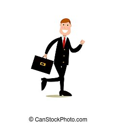 Office people concept vector illustration in flat style -...