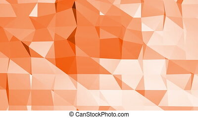 Polygonal digital mosaic environment or background with...