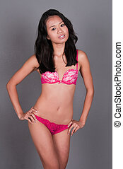 Singaporean woman - Slender young Singaporean Chinese woman...