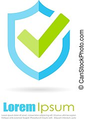 Best protection shield logo