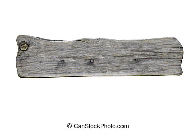 wooden sign background message - close up of an empty wooden...