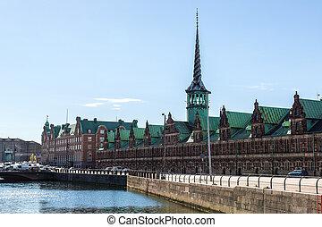 Former stock exchange in Copenhagen
