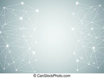 Abstract computer generated on white background - Abstract...