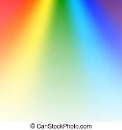 Rainbow gradient background mesh