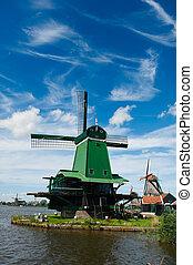 風車, 風景