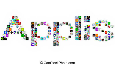 Applis - Application Icons Word in App Tiles - Applis - the...