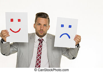 cry or laugh - a manager or entrepreneur can not decide...