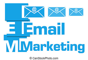 Email Marketing Blue Abstract Stripes - Email marketing...