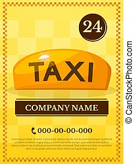 Taxi services vector illustration - Taxi services...