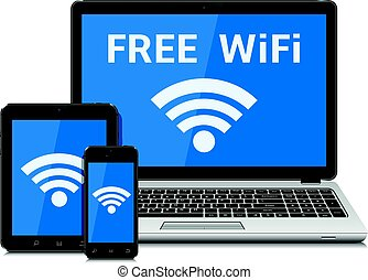 Wireless technology devices and wifi internet connection...