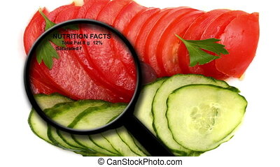 Vegetables nutrition facts