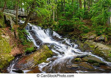 Potts Falls Bracebridge Canada - Potts Falls are located in...