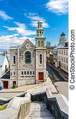 The Jesuit Chapel in Quebec City, Canada - The Jesuit Chapel...