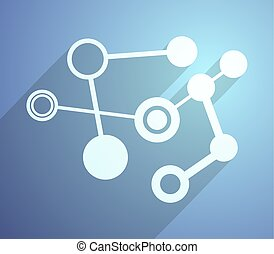 tech illustration - creative design of tech illustration