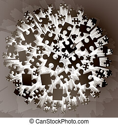 imaginative puzzle pieces