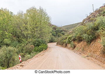 Landscape on the Oude Muragie road - The landscape on the...