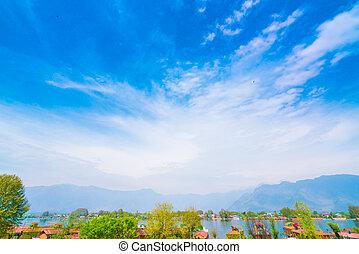 Dal lake, Kashmir India .