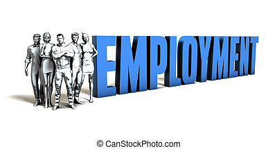Employment Business Concept
