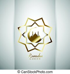 Decorative Ramadan background - Decorative background for...