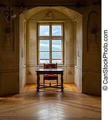GRESSONEY, ITALY - January 6th: Interior of Castle Savoia
