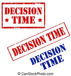 Decision Time-stamps