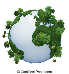 Green Planet Earth 3D (version 03)