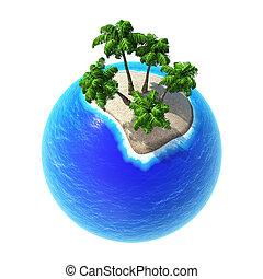 Planet 3D Tropics 01