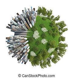 Planet City 3D (version 05\1) - Cartoon Planet City 3D...