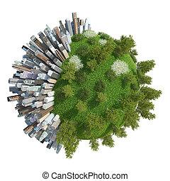 Planet City 3D (version 05\2) - Cartoon Planet City 3D...