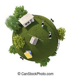 Planet Farm 3D