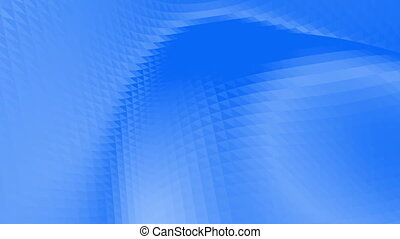 Violet low poly waving surface as geometric mesh. Violet geometric vibrating environment or pulsating background in cartoon low poly popular modern stylish 3D design..