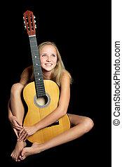 nude guitar