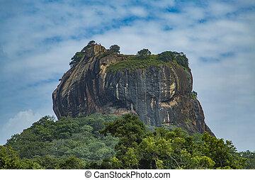 Sigiriya Rock Fortress at Matale, Sri Lanka - Sigiriya Rock...