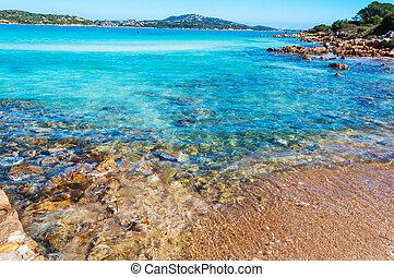 Lu Impostu beach in Costa Smeralda, Sardinia