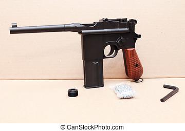 armas,  mauser, revolución, pistola